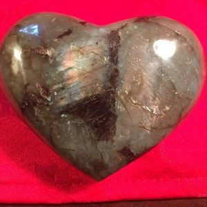 Other - Beautiful Labradorite Heart